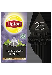 Lipton Pyramid Pure Black Ceylon (6x25 teabags)
