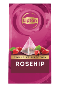 Lipton Rosehip (6x25 pyramid tea bags) - Lipton Exclusive Selection offers your guests a unique tea moment