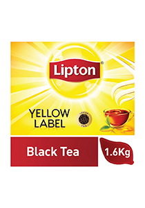 Lipton Yellow Label Black Tea Loose (6x1.6KG) - Lipton knows how to create that