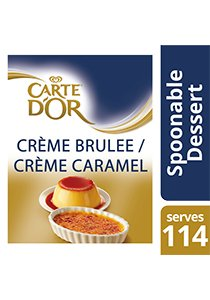 CARTE D'OR Creme Brulee Mix 1250g