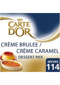 CARTE D'OR Creme Brulee Mix 1250g