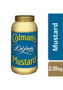 COLMAN'S Dijon Mustard 2.35 kg/2.25 L jar -