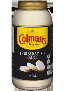 COLMAN'S Horseradish Sauce 2 kg/2.25 L jar