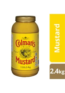 COLMAN'S Original English Mustard 2.4 kg/2.25 L jar -