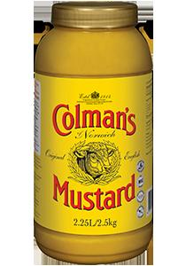 COLMAN'S Original English Mustard 2.5 kg/2.25 L jar