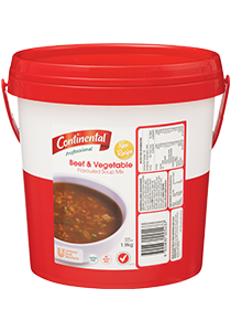 CONTINENTAL Professional Beef and Vegetable Soup 1.9 kg
