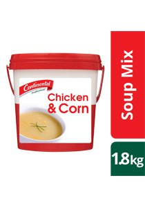 CONTINENTAL Professional Chicken and Corn Soup 1.8 kg -