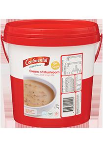 CONTINENTAL Professional Cream Mushroom Soup 1.7 kg