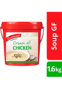 CONTINENTAL Professional Gluten Free Cream of Chicken Soup Mix 1.6kg -