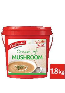 CONTINENTAL Professional Gluten Free Cream of Mushroom Soup Mix 1.8kg -