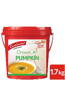 CONTINENTAL Professional Gluten Free Cream of Pumpkin Soup Mix 1.7kg -