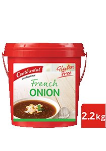 CONTINENTAL Professional Gluten Free French Onion Soup Mix 2.2kg -