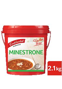 CONTINENTAL Professional Gluten Free Minestrone Soup Mix 2.1kg