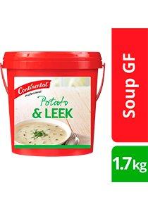 CONTINENTAL Professional Gluten Free Potato & Leek Soup Mix 1.7kg