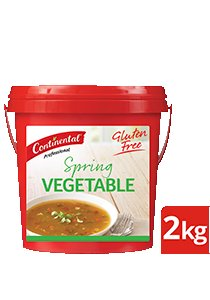 CONTINENTAL Professional Gluten Free Spring Vegetable Soup Mix 2kg