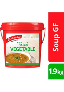 CONTINENTAL Professional Gluten Free Thick Vegetable Soup Mix 1.9kg