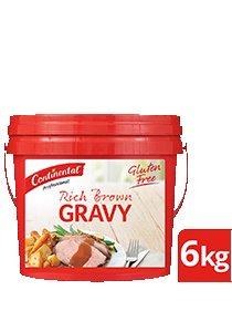 CONTINENTAL Rich Brown Gravy Gluten Free 6kg