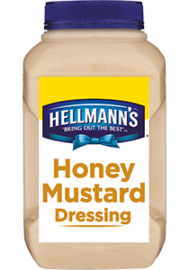 HELLMANN'S Honey Mustard Dressing 2.55 L