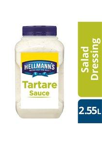 HELLMANN'S Tartare Sauce 2.6 kg/2.55 L -