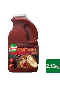 KNORR American Tomato Chilli Relish GF 2.15 kg