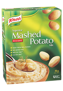 Boil In Bag Mashed Potato Food Service