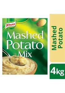 KNORR Instant Mashed Potato Mix 4 kg -