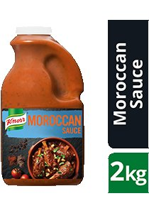 KNORR Moroccan Sauce GF 2kg -