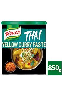 KNORR Thai Yellow Curry Paste 850 g -