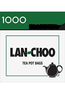 LAN-CHOO Tea Pot Bags 1000's