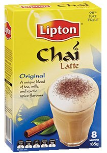 LIPTON Chai Latte Sticks/Sachets 8's