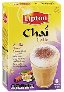 LIPTON Chai Latte Vanilla/Sachets 8's