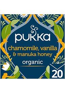 PUKKA Chamomile Vanilla Manuka Tea 20's