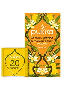 PUKKA Lemon Ginger and Manuka Honey Tea 20's -