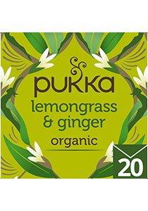 PUKKA Lemongrass & Ginger Tea 20's -