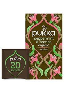 PUKKA Peppermint Licorice Tea 20's -