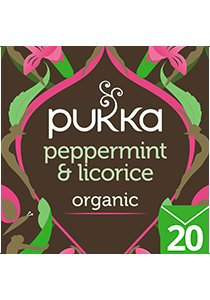 PUKKA Peppermint Licorice Tea 20's -