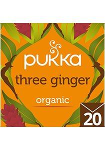 PUKKA Three Ginger Tea 20's -