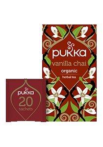 PUKKA Vanilla Chai 20's -