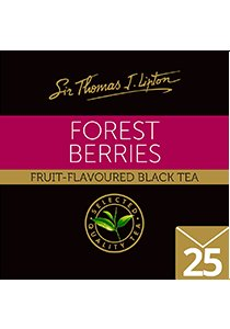 SIR THOMAS LIPTON Forest Berries Envelope 25's - Individually sealed for a premium and fresher tea.