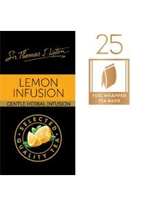 SIR THOMAS LIPTON Lemon Envelope Tea 25's
