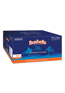BUSHELLS Envelope Tea Cup Bags 1200s - Bushells' full flavour has been enjoyed by Australians for generations.
