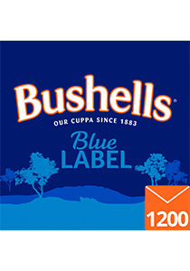 BUSHELLS Envelope Tea Cup Bags 1200s - Bushells' full flavour has been enjoyed by Australians for generations.