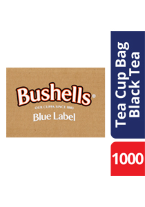 BUSHELLS Tea Cup Bags 1000's - Bushells' full flavour has been enjoyed by Australians for generations.