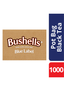 BUSHELLS Tea Pot Bags 1000's - BUSHELLS' full flavour has been enjoyed by Australians for generations.