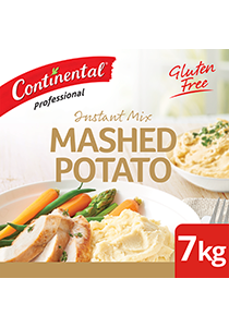 CONTINENTAL Professional Instant Mashed Potato 7 kg - CONTINENTAL Mashed Potato, made with finely ground potatoes for a smooth texture every time.