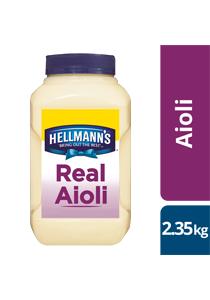 HELLMANN'S Real Aioli 2.35 kg/2.5 L - HELLMANN'S Real Aioli delivers consistent flavour with an infusion of garlic.