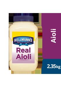 HELLMANN'S Real Aioli 2.35 kg/2.5 L