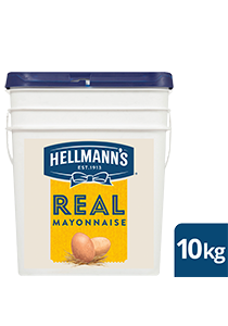 HELLMANN'S Real Mayonnaise 10 kg - Made to an authentic egg yolk recipe for a scratch - made taste, that's also Gluten Free.
