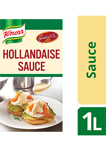 KNORR Garde d'Or Hollandaise Sauce 1 L | Unilever Food Solutions