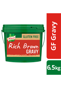 KNORR Gluten Free Rich Brown Gravy 6.5kg - KNORR Rich Brown Gravy is now gluten free, with a classic, meaty gravy taste.